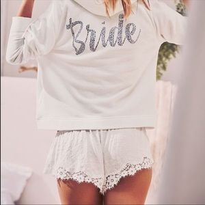 Dream Angels Bridal Floral Lace Shortie Short